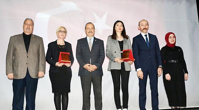 """""""Kadına yönelik şiddette mücadele örneği"""""""