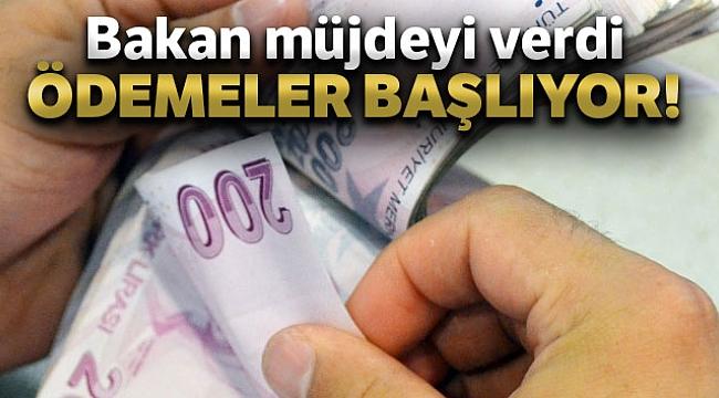 Bakan Pakdemirli: 'Destek ödemelerine bugün başlıyoruz'