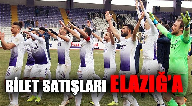 BİLET GELİRLERİ ELAZIĞ'A