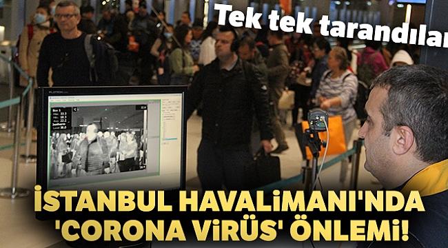 'Corona Virüs' için termal kameralı önlem