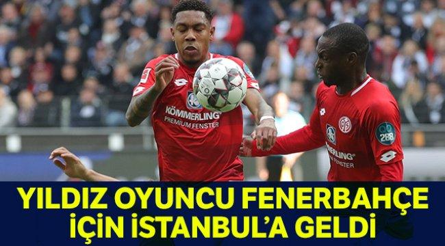 Falette, Fenerbahçe için İstanbul'a geldi