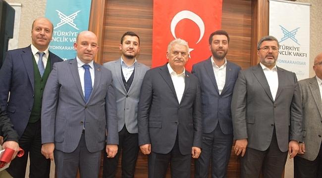 Başkan Bozkurt Binali Yıldırım ile görüştü