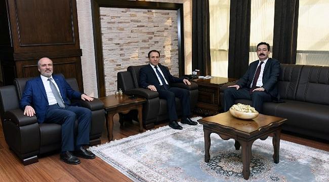 Karakaş'tan Emniyet Müdürü Temiz'e ziyaret