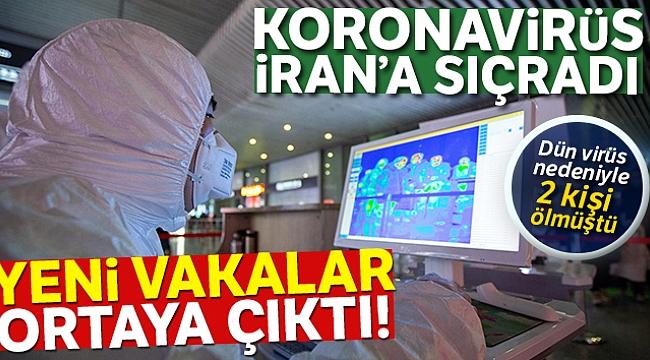 KORONAVİRÜS İRAN'A SIÇRADI