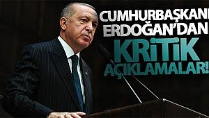 Cumhurbaşkanı Erdoğan koronavirüse karşı alınan tedbirleri açıkladı