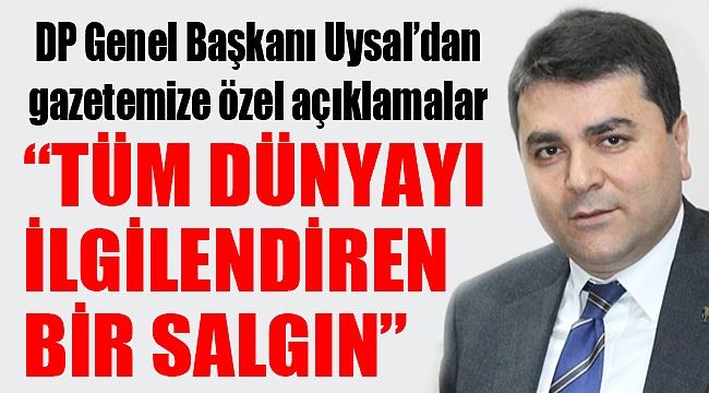 """""""TÜM DÜNYAYI İLGİLENDİREN BİR SALGIN"""""""