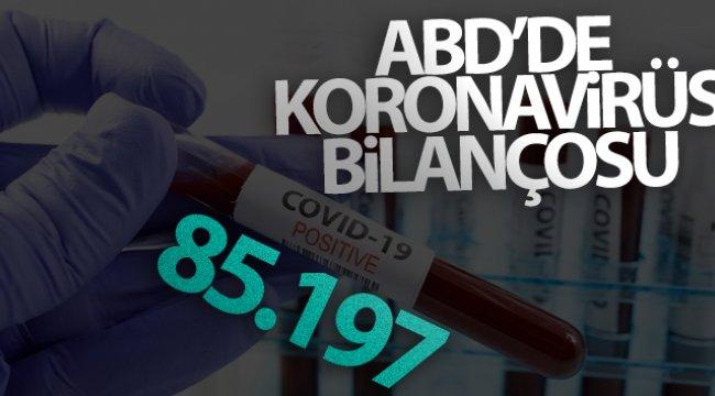 ABD'de koronavirüsten hayatını kaybedenlerin sayısı 85 bini geçti