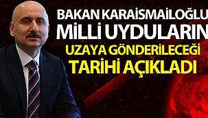 """Bakan Karaismailoğlu: """"TÜRKSAT 5A 2020'nin son çeyreğinde, TÜRKSAT 5B 2021'nin ikinci çeyreğinde uzaya gönderilecek"""""""