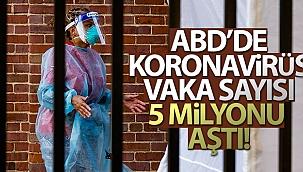 ABD'de korona virüs vaka sayısı 5 milyonu aştı