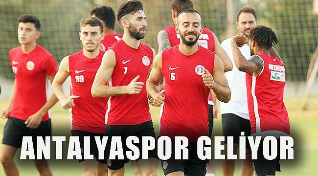 ANTALYASPOR GELİYOR