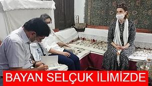 BAKAN SELÇUK'UN EŞİ RANA SELÇUK İLİMİZE GELDİ