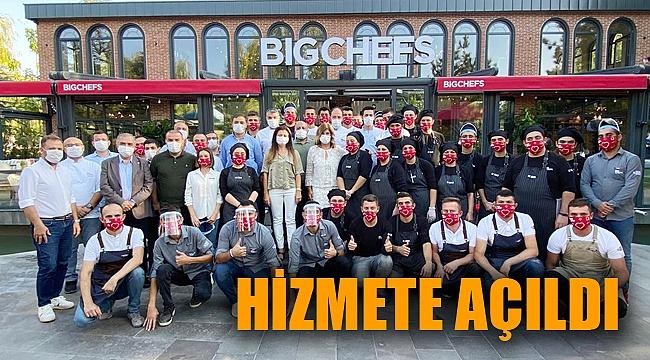 BİG CHEFS RESTORAN HİZMETE AÇILDI