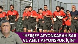 """HERŞEY AFYONKARAHİSAR VE AFJET AFYONSPOR İÇİN"""