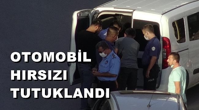 OTOMOBİL HIRSIZI TUTUKLANDI