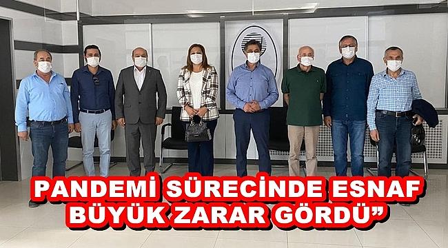 """""""PANDEMİ SÜRECİNDE ESNAF BÜYÜK ZARAR GÖRDÜ"""""""