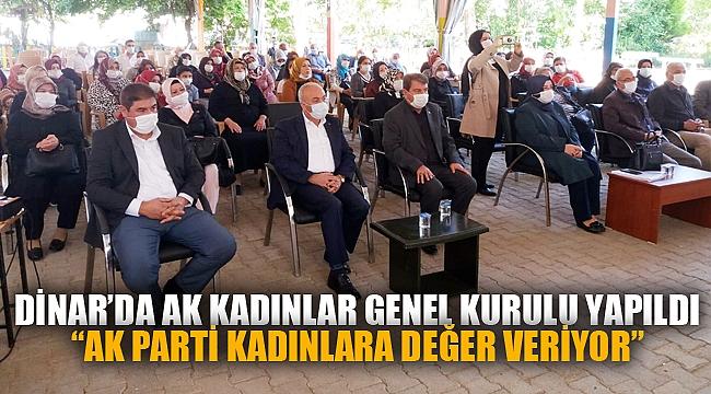 """""""AK PARTİ KADINLARA DEĞER VERİYOR"""""""