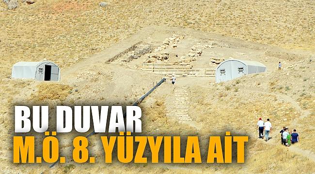 """Apameia Antik Kenti yakınında Helenistik döneme ait """"duvar"""" bulundu"""