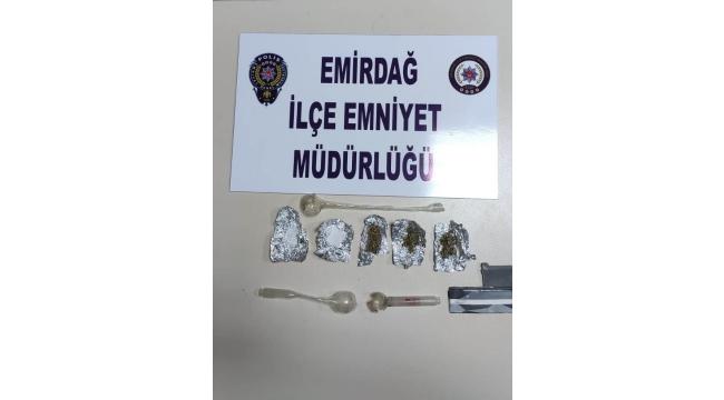 Çok sayıda uyuşturucu madde ele geçirildi