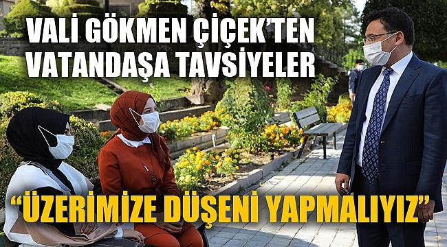"""""""HEPİMİZ ÜZERİMİZE DÜŞENİ YAPMALIYIZ"""""""