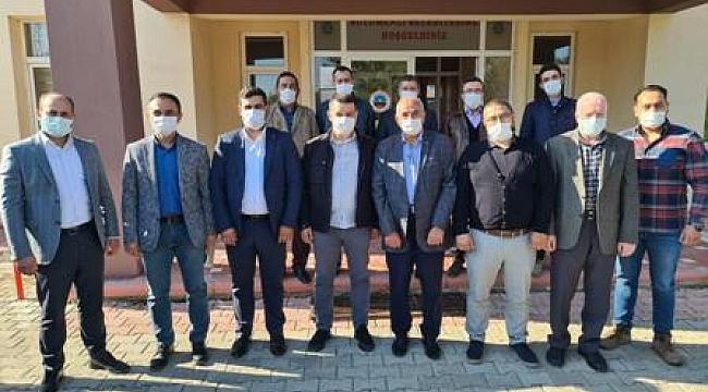 Merkez İlçe Başkanı Karadeniz ziyaret turunda