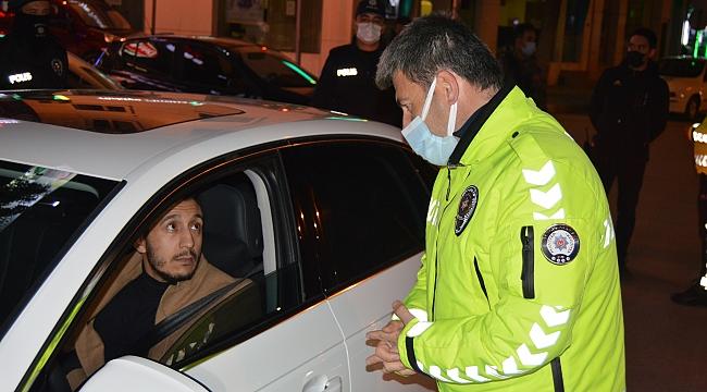 44 kişiye sokağa çıkma cezası
