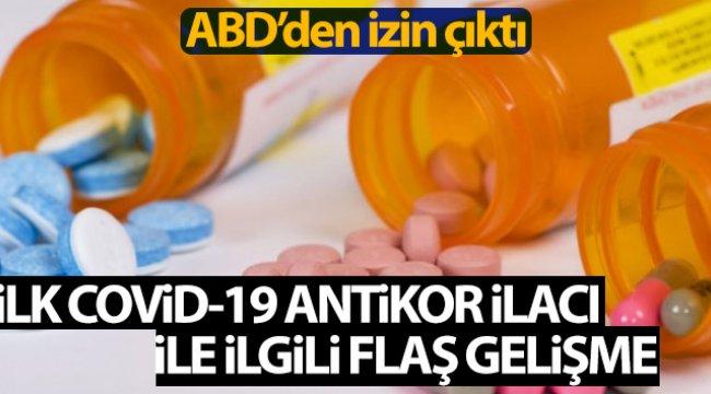 ABD, ilk Covid-19 antikor ilacının acil kullanımına izin verdi