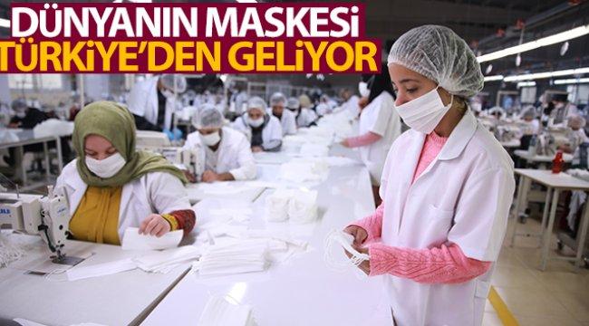 Dünyanın maskesi Türkiye'den gidiyor