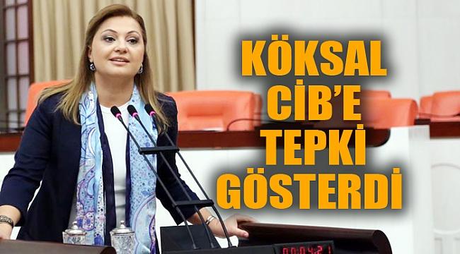 KÖKSAL CİB'E TEPKİ GÖSTERDİ
