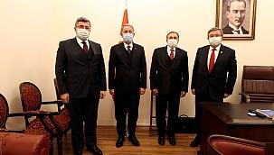 Milletvekillerinden MSB Hulusi Akar'ı ziyaret
