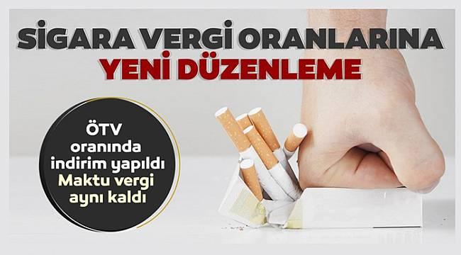 Sigara vergi oranlarında yeni düzenleme!