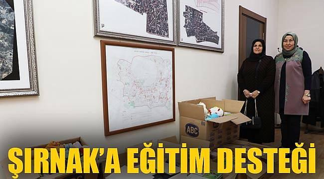 ŞIRNAK'A EĞİTİM DESTEĞİ