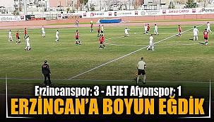 Erzincanspor – 3 - Afjet Afyonspor – 1