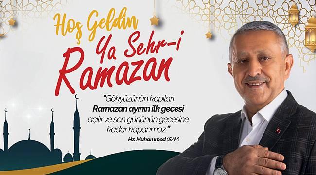 """""""Ramazanda birlik ve beraberliğimiz daha da güçlensin"""""""