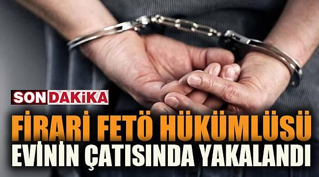 Afyonkarahisar'da firari FETÖ hükümlüsü yakalandı