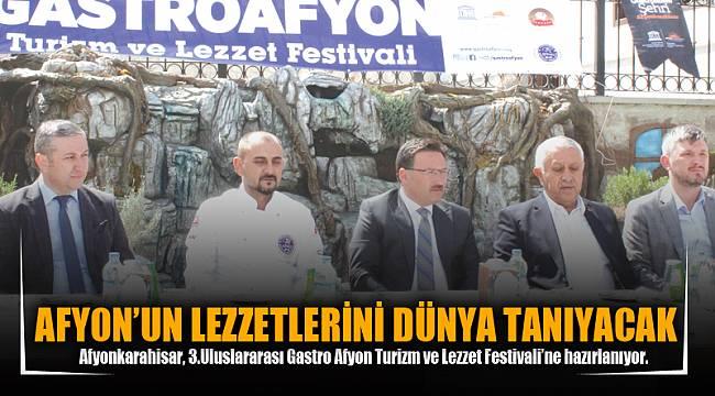AFYON'UN LEZZETLERİNİ DÜNYA TANIYACAK
