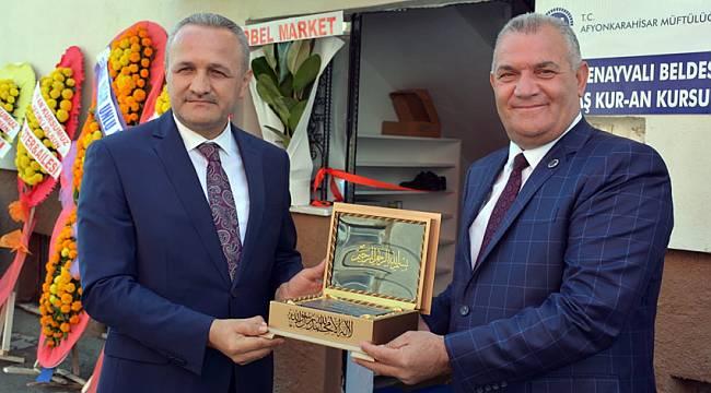 Değirmenayvalı'da Kur'an Kursu hizmete açıldı