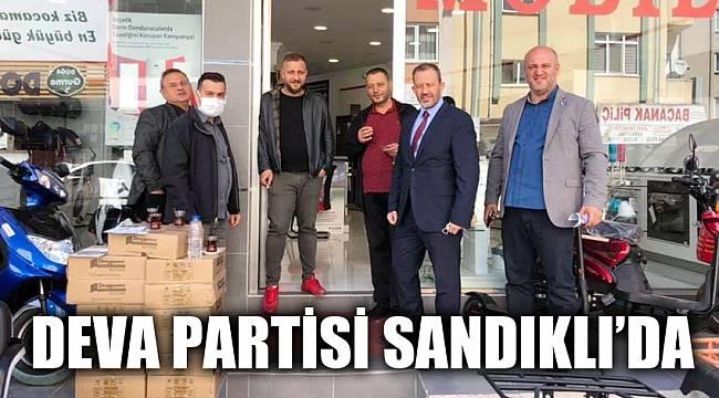 DEVA PARTİSİ SANDIKLI'DA