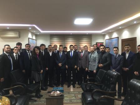Taytak'dan Genel Başkan Ateş'e hayırlı olsun ziyareti