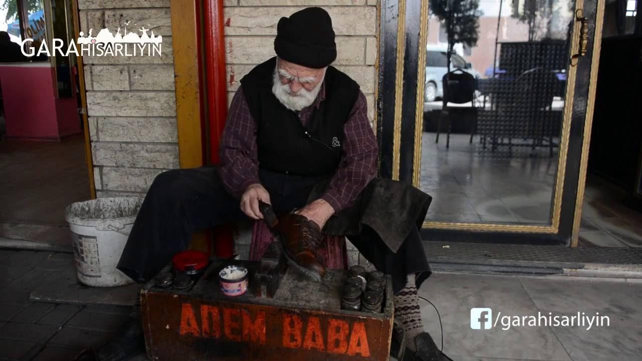 Afyonlu ayakkabı boyacısı Adem Baba