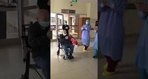 65 yaşında Korona virüsü yendi