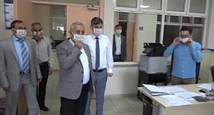 Başkan Zeybek Personelle Bayramlaştı